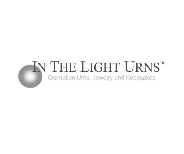 Custom Laser Engraved Christian Path Companion Walnut Wood Urn